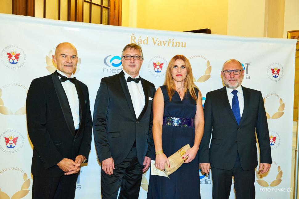 Carduus Asset Management jako generální partner akce Řád Vavřínu 2017